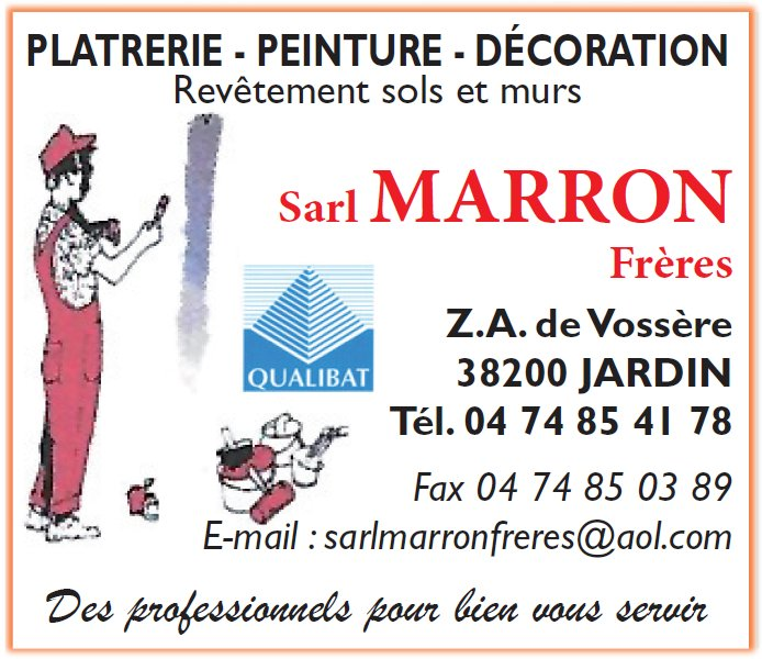 Photo de Platrerie Peinture Marron