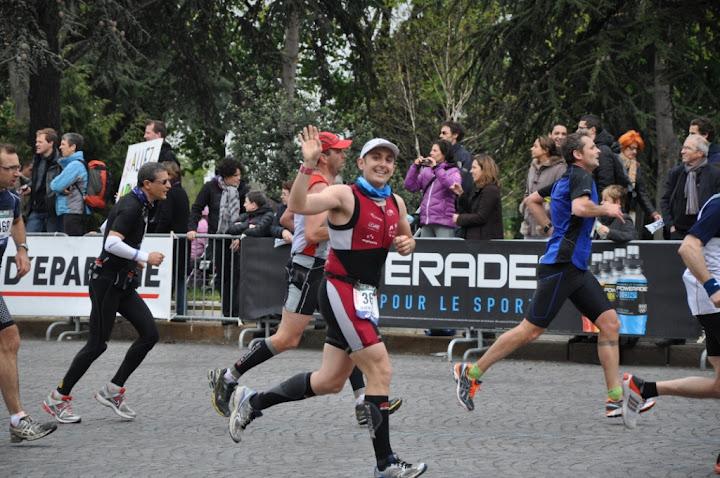 Arrivée Marathon de Paris 2012