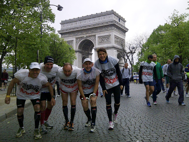 Photo du départ Marathon de Paris