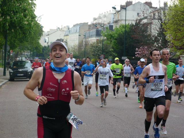 Marathon de Paris - Sortie de Vincenne